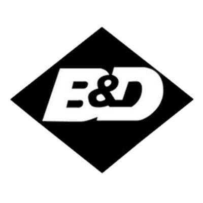 b&d doors logo