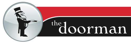 the doorman bathurst mobile logo